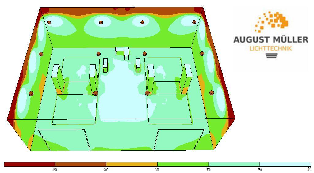 Konzept LED Werkstattbeleuchtung