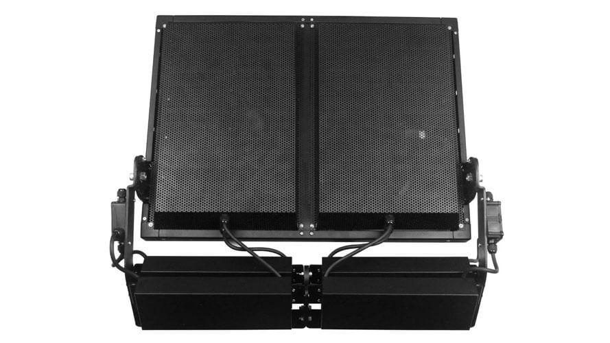 1000 Watt LED Flutlichtstrahler AML FLHP 1000 Rückseite